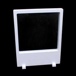 White Rectangular Display Box With Stand 23x18x2cm (1pk)