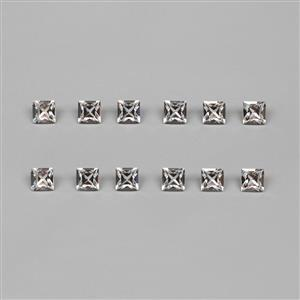 Swarovski Crystal Faceted Square Fancy Stones, 8mm - 12pk