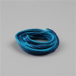 1/2 Yard Maelstrom Shibori Silk Ribbon