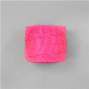 70m Hot Pink Nylon Cord 0.4mm