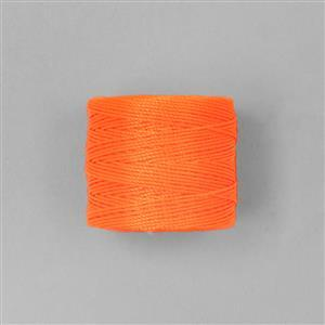 70m Orange Nylon Cord 0.4mm