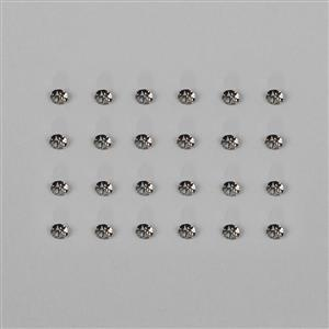 Black Diamond 1088 Swarovski Crystal Round Stones - 3mm, 24pk