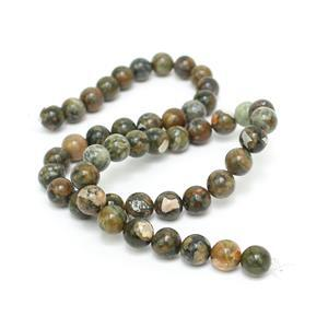 170cts Rhyolite Plain Rounds Approx 8mm, 38cm Strand