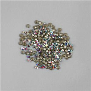 Swarovski Round Stone Crystal AB Approx 1.65mm (200pk)