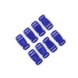 Royal Blue Plastic Buckle, 16/20mm 8 pcs