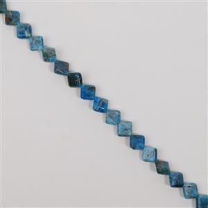 215cts Neon Apatite Fancy Diamond Approx 10mm, 38cm Loose Strand