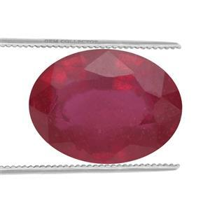 1.4cts Malagasy Ruby 8x6mm Oval  (F)