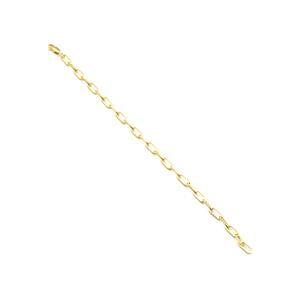 Willow & Tig Collection: Gold Plated 925 Sterling Silver Paperclip Bracelet Approx 18 cm