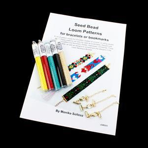 Monika's Tribal Loom; 11/0 & Claps with Loom Booklet by Monia Soltesz