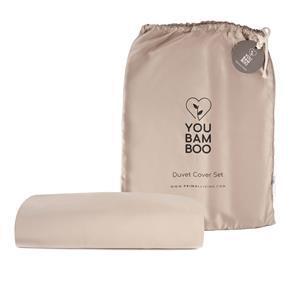 YouBamboo Single Size Taupe Bedding Set