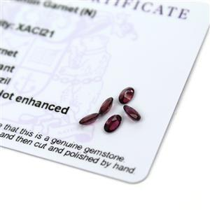 1.15cts Tocantin Garnet 5x3mm Oval Pack of 5 (N)