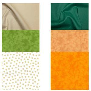 Autumn Bali Pop Complementary Fabric Bundle (3m)