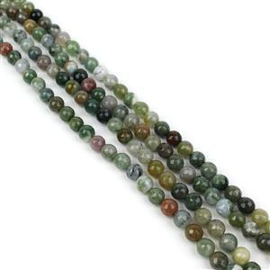 410cts Fancy Jasper Faceted Rounds Approx 6mm, 60