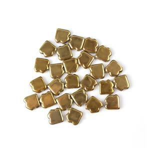 Jewellery Maker Czech Dart Beads by Mark Smith - Crystal Full Amber (25pcs)
