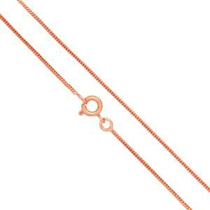 Copper Plated Brass Finished Snake Chain, 18