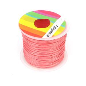 10m Rose Wax Cord Spool 1mm