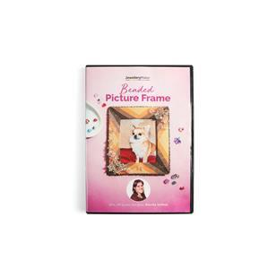 Beaded Picture Frame with Monika Soltesz DVD (PAL)