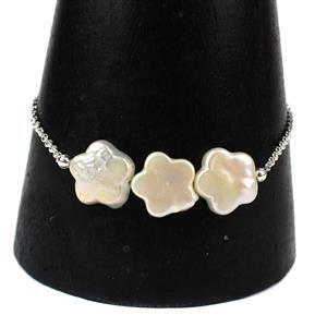 Vintage Blooms Inc BRAND NEW High Lustre Flower Shaped Freshwater Cultured Pearls
