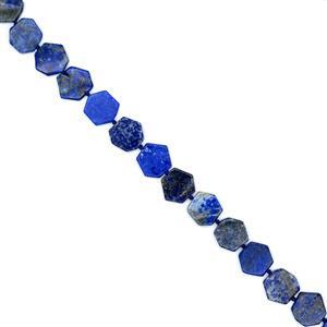 220cts Lapis Lazuli Fancy Hexagons Approx 15mm, 38cm