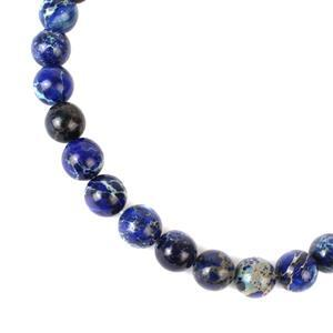 380cts Royal Blue Terra Jasper Plain Rounds Approx 12mm, 40cm Strand
