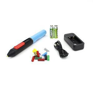Bosch Gluey - Hot Glue Pen with mixed glue sticks