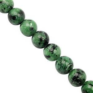 245cts Zoisite Smooth Round Approx 10mm, 28cm Strand