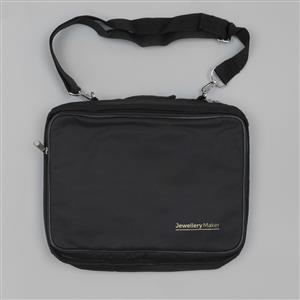 Black Jewellery Maker Portfolio Bag Approx 30x23x8cm
