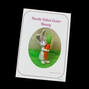 Needle Felted Easter Bunny Booklet by Mel Green
