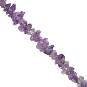 420cts Amethyst Beads Nuggets Approx 3.50x2.50 to 12x4mm, 100cm Strand.