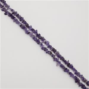 550cts Dark Amethyst Small Nuggets Approx 3x2mm to 8x2mm, 254cm Loose Strands