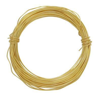 10m Gold Plated Copper Soft Wire 1mm
