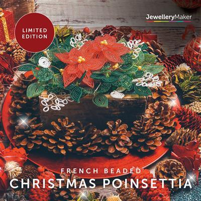 French Beaded Christmas Poinsettia DVD (PAL)