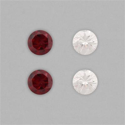 6.50mm Round Cut Gems Collection