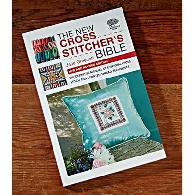 The New Cross Stitchers Bible Book by Jane Greenoff (Signed)