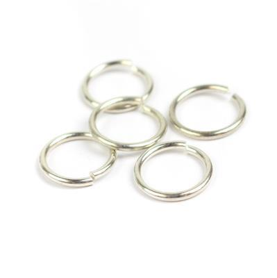 935 Argentium Finest Silver Jump Rings Approx 14.5mm ID x 2mm (5pcs)