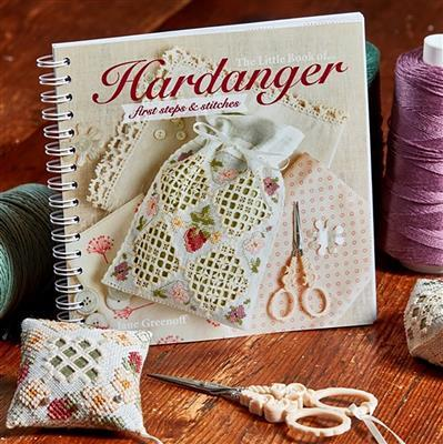 The Little Hardanger Book-First Steps and Stitches Book by Jane Greenoff (Signed)