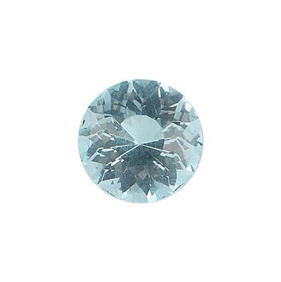 10.50cts Sky Blue Topaz Special Cut Round 14mm.