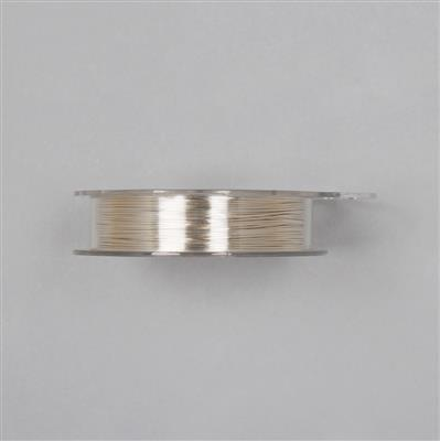 10m Silver Plated Copper Wire 0.6mm