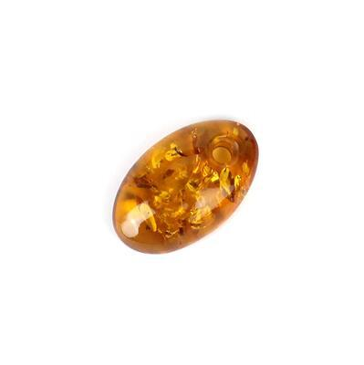 Baltic Cognac Amber Oval Cabochon Approx 30x18mm
