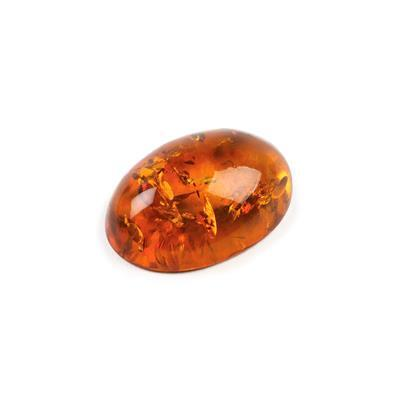 Baltic Cognac Amber Oval Cabochon Approx 25x18mm
