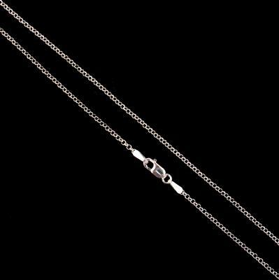 925 Sterling Silver Belcher Chain with 1.7mm Link, 41cm/16