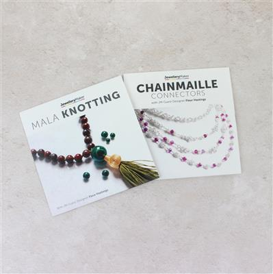 Double Trouble! Chainmaille Connectors and Mala Knotting