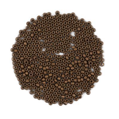 Miyuki Matte Metallic Dark Bronze Seed Beads 8/0 (22GM/TB)