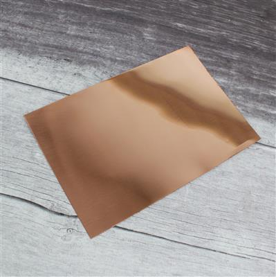 Copper Sheet 0.40mm 6x9 inches