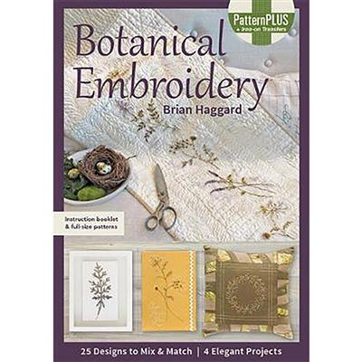 Botanical Embroidery by Brian Haggard Book