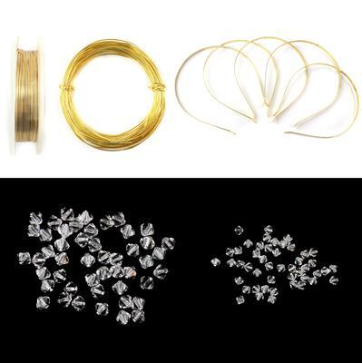 The Flower Tiara Collection Inc; Swarovski Crystals, Tiara Bands and Wire