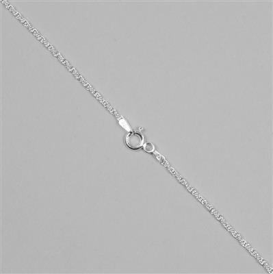 925 Sterling Silver Prince of Wales Chain with 1.8mm, 61cm/24