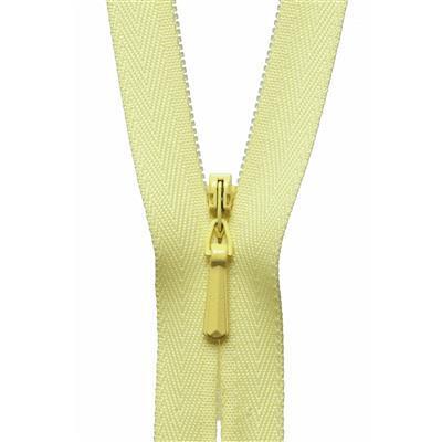 Concealed Zip in Lemon 56cm