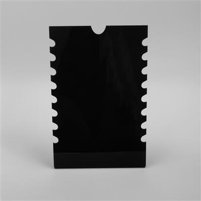 Black Acrylic Necklace Display Stand Approx 17x26cm