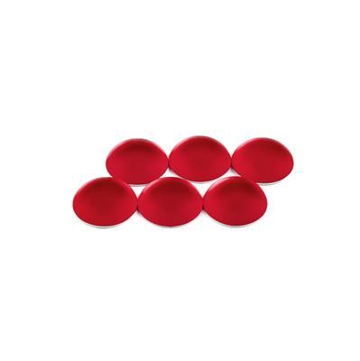 Cherry Luna Round Cabochons Approx 14mm (6pcs)